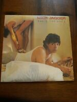 Mick Jagger Shes The Boss Vinyl LP Columbia 1985  Rolling Stones in Shrink Wrap