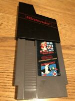 Super Mario Bros Duck Hunt NES Game Cartridge Tested & Working With Case