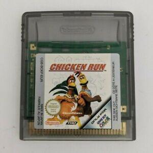 Very Good! Genuine Authentic Nintendo Game Boy Color Chicken Run Game AUS GBC