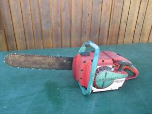 """Vintage HOMELITE XL-902 AM Chainsaw Chain Saw with 14"""" Bar"""