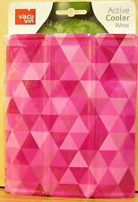 Wine or?--Vacu Vin Active Cooler In PINK ~ Chills Drinks-Wines-Sodas and more