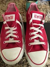 Converse Chuck Taylor All Star Shoes Mens 6.5 Womens 8.5 Low Pink Raspberry