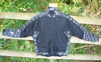 Maharishi Waterproof 3M Reflective CoolMax Black Camo Cycle Cycling Jacket Large