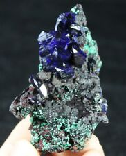 AAA --- New from Laos BIG CRYSTAL Gemmy 'electic-blue' Azurite 770746