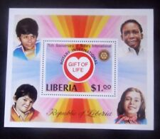 Liberia-1979-25th Anniv of Rotary International Minisheet-MNH