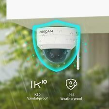 Foscam VZ4 4MP 2.4G/5G WiFi 4X Optical Zoom PT Outdoor Security WiFi Dome Camera