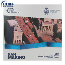 *** EURO KMS SAN MARINO 2014 Stempelglanz BU Coin Set Kursmünzensatz Münzen ***