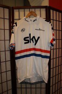 Rapha Sky Team cycling jersey size XXXL . ALY