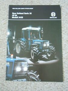 @ New Holland Ford 35 Series Tractor Brochure (In Swedish)@