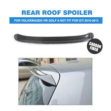 Carbon Fiber Rear Roof Spoiler Wing Lip For VW Golf 6 VI MK6 NON GTI NON R 10-13