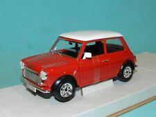 1 24 1969 Mini Cooper Red Diecast Model Bburago