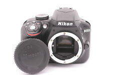 Nikon D D3300 24.2MP Digital SLR Camera - Nero (solo Corpo) - Conta Scatti: 350