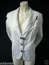BIBA - chic veste bleu Waterfalls blanc gr. 42 UVP NEUF