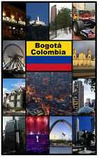 BOGOTA, COLOMBIA - SOUVENIR  FRIDGE MAGNET -  BRAND NEW