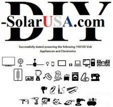 Complete Hybrid Solar Generator System with batteries from DIY-SolarUSA.com
