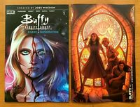 BUFFY EVERY GENERATION 1 Main Cover A + Yarsky Variant Set Boom NM