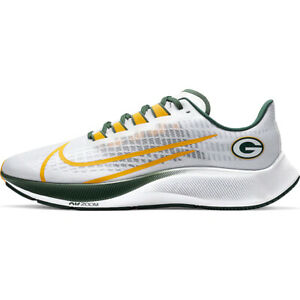 New 2020 Green Bay Packers Nike Unisex Zoom Pegasus 37 Running Training Shoes