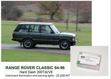 RANGE ROVER CLASSIC 94-96 Soft Dash instrument panel 22 bulbs LED KIT