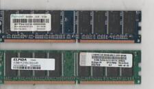 NR. 02 BANCHI RAM DDR PER DESKTOP DA 512MB X 2 (1GB TOTALE) USATI FUNZIONANTI