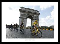 2016 Tour de France Chris Froome & Team Sky Photo Memorabilia (350)