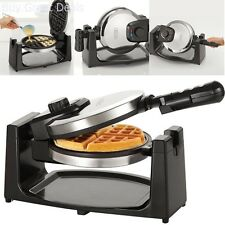 Belgian Waffle Maker Commercial Double Waring Breakfast Iron Kitchen Heavy New
