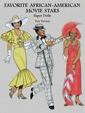 Favorite African-American Movie Stars Paper Dolls Paper Doll Book