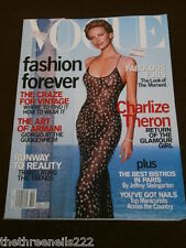 VOGUE USA - CHARLIZE THERON - OCT 2000