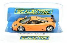 Scalextric Papaya Orange McLaren F1 LM DPR W/ Lights 1/32 Scale Slot Car C4102