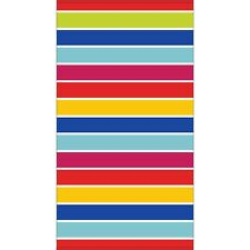 "Member's Mark Adult Beach Towel 40"" x 72"" - Candy Stripe"