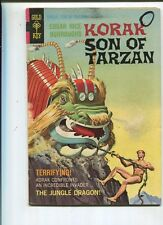 Korak-Son Of Tarzan #22 Very Good 1968 The Jungle Dragon Gold Key Comics *SA
