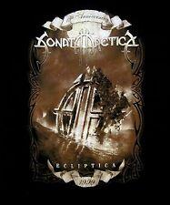 SONATA ARCTICA cd cvr 15th Anniversary ECLIPTICA Official SHIRT XXL 2X New oop