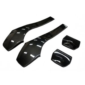 Carbon Fiber Front Seat Cover Interior Trim for BMW M3 F80 & M4 F82 F83