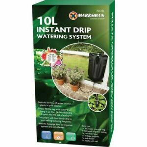 10L Instant Drip Watering Gravity Kit Fed Irrigation Plants Greenhouse System
