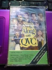 Sing Along With QVC Cassette Tape SEALED NEW QVC Promo 1991 Karaoke Tape