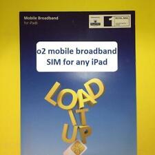 3G/4G o2 Micro SIM for Apple iPad 1/2/3/4 Cellular Data/02/PAYG Mobile Broadband