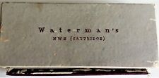 More details for waterman nw2 fountain pen & propelling pencil set dating from 1950/60s in grey