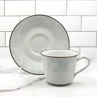 Noritake Ravel Set of 5 Saucer & Tea Cup Coffee Mug Dinnerware Tableware Japan