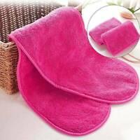 1* Reusable Makeup Remover Microfiber Facial Cloth Face Towel Cleansing Tool