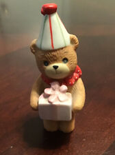 Vintage Lucy & Me Bear-Enesco-1982 Birthday Bear With Present