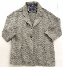 New American Eagle AE AEO #1709 Womens Gray Heathered Jacket Coat Size Small