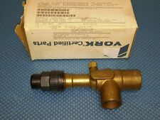 "YORK 025-10510-000 1 1/8""  ACCESS VALVE LIQUID STOP FOR CHILLER AIR COOLED NEW"