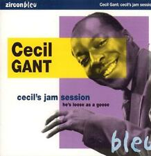 Cecil Gant(CD Album)Cecil's Jam Session He's Loose As A Goose-Zircon-Bl-New