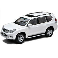 1:18 Scale,white Toyota Land Cruiser Prado Diecast Model Car. Shipping.
