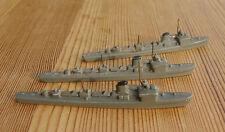 1/1250 three 3x german Torpedo T-boats Kriegsmarine coastal wolfpack wargamers