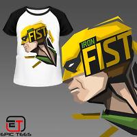 Marvel Iron Fist T-Shirt / Mens / Women's / Kids / Comic Book