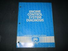 1984 CHEVROLET ENGINE CONTROL SYSTEM DIAGNOSIS TRAINING MANUAL  PTD-1, 2-(84-6)