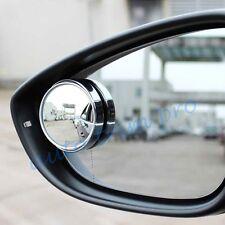 2PCS Car Accessories Universal Round Adjustable Rear View Blind Spot Mirror