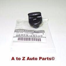 NEW 2004-2009 Nissan 350Z Driver or Passenger Black SUN VISOR CLIP, OEM