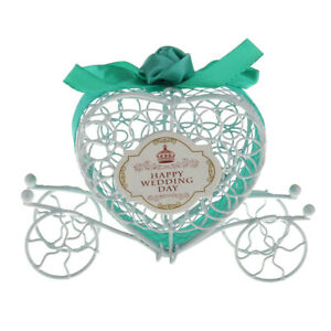 Carriage Metal Candy Chocolate Gift Box Party Birthday Wedding Decor