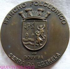 MED4187 - MEDAILLE FESTIVAL INT. FOLCLORE GOUVEIA PORTUGAL 1978 SERRA DA ESTRELA